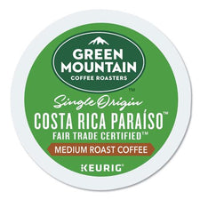 Green Mountian Coffee Costa Rica Paraiso Fair Trade K-cup Pods