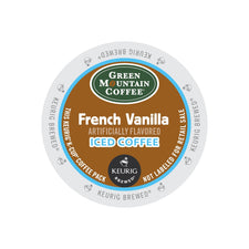 Green Mountain French Vanilla Brew Over Ice Coffee K-Cups 22ct