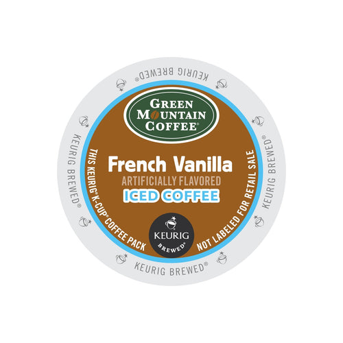 Green Mountain French Vanilla Brew Over Ice Coffee K-Cup® Pods 88ct