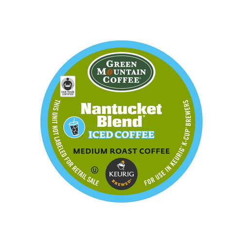 Green Mountain Nantucket Blend Brew Over Ice Coffee K-Cup® Pods 88ct