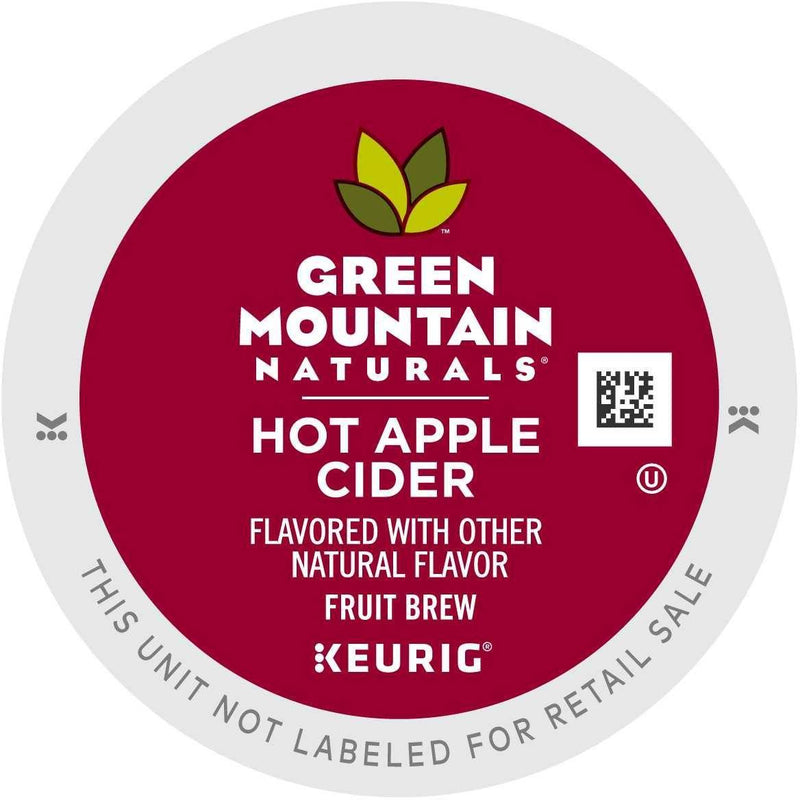 Green Mountain Hot Apple Cider K-Cup Pods 24ct