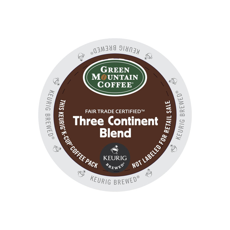 Green Mountian Coffee Three Continent Blend K-Cup® Pods 96ct