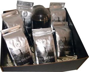 New York Coffee Coffee Grind And Brew Gift Basket