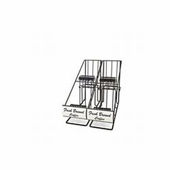 Grindmaster AR4 Four Pot Rack with Inlines Rack Only Part #70655