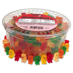 Gummy Bears Assorted Flavors 2lb Tub