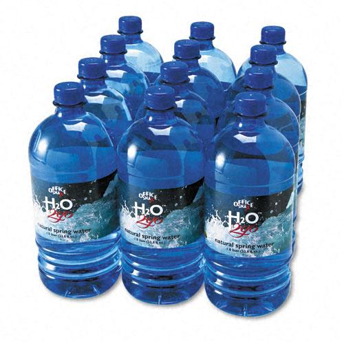 H2O 2GO Premium Bottled Water 12 1 Liter Bottles