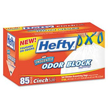 Hefty 13 Gallon Cinch Sak Tall Kitchen and Trash Bags 85ct Box Left