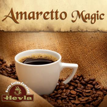 Hevla Amaretto Magic Low Acid Ground Coffee 5lb Bag