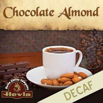 Hevla Chocolate Almond Decaf Low Acid Ground Coffee 12oz Bag