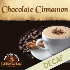 Hevla Chocolate Cinnamon Decaf Low Acid Ground Coffee 5lb Bag