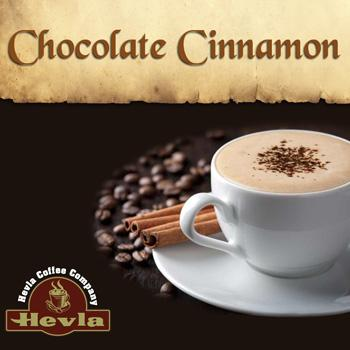 Hevla Chocolate Cinnamon Low Acid Ground Coffee 12oz Bag