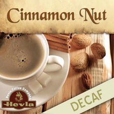 Hevla Cinnamon Nut Decaf Low Acid Ground Coffee 5lb Bag