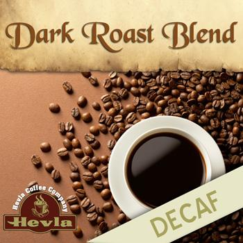 Hevla Dark Roast Decaf Low Acid Ground Coffee 5lb Bag