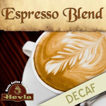 Hevla Espresso Decaf Low Acid Ground Coffee 12oz Bag