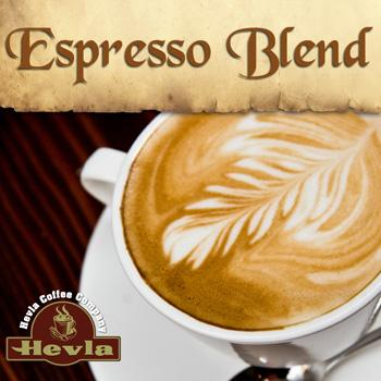 Hevla Espresso Low Acid Ground Coffee 5lb Bag
