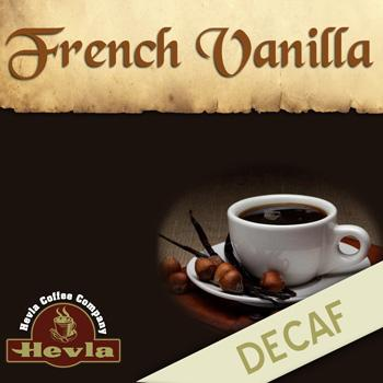 Hevla French Vanilla Decaf Low Acid Ground Coffee 5lb Bag