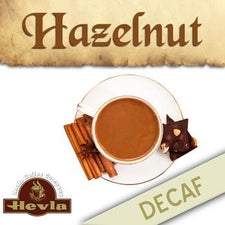 Hevla Hazelnut Decaf Low Acid Ground Coffee 12oz Bag