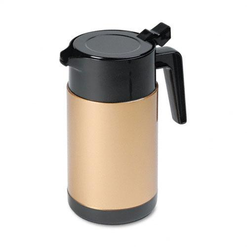 Hormel Black and Gold Poly Lined Carafe 40oz Capacity