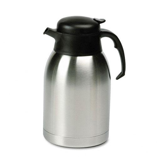 Hormel Stainless Steel Lined Vacuum Carafe 1.9 Liter Capacity