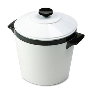 Hormel White with Black Trim 3Qt Ice Bucket with Lid