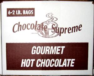 Hot Chocolate Powder 6 2LB Bags