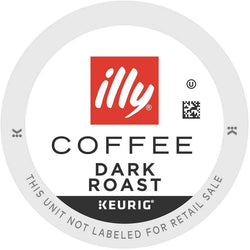 illy Coffee Dark Roast K-cup Pods 20ct