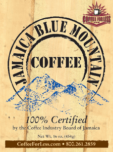 Jamaica Blue Mountain Coffee Beans 3Lb Bag
