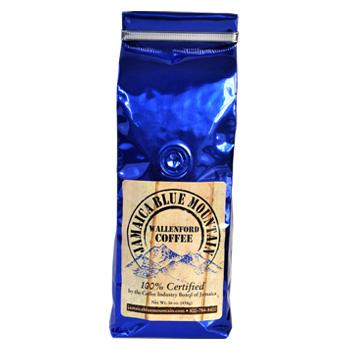 Jamaica Blue Mountain Peaberry Coffee Beans 1 LB Bag