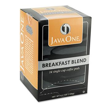 JavaOne Breakfast Blend Coffee Pods 14ct Box