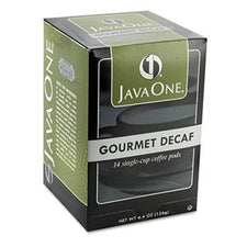 JavaOne Colombian Decaf Coffee Pods 14ct Box