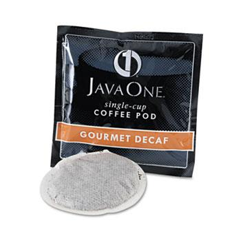 JavaOne Colombian Decaffeinated Coffee Pods