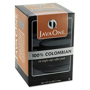 JavaOne Colombian Supremo Coffee Pods 14ct Box