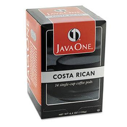 JavaOne Estate Costa Rican Coffee Pods 14ct Box
