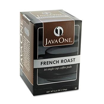JavaOne French Roast Coffee Pods 14ct Box