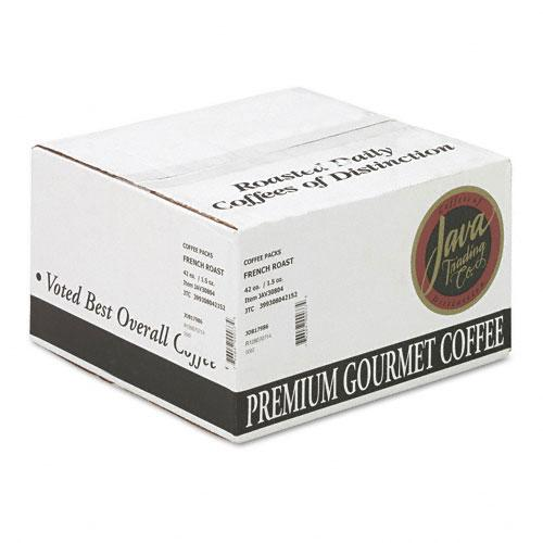 JavaOne French Roast Ground Coffee 42 1.5oz Bags