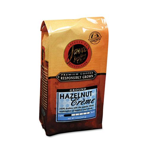 JavaOne Hazelnut Creme Ground Coffee 12oz Bags