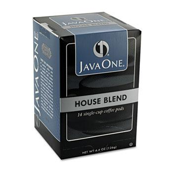 JavaOne House Blend Coffee Pods 14ct Box