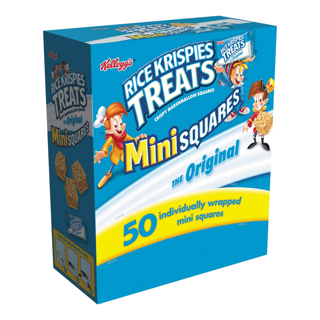 Kellogg's Rice Krispies Treats Mini Squares 50ct