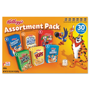 Kellogg's Breakfast Cereal Mini Boxes Assorted 30ct