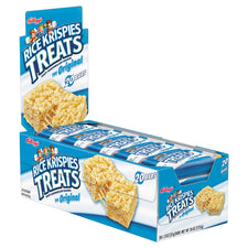 Rice Krispies Treats Original Marshmallow Flavor 1.2oz Snack Packs 20ct Box
