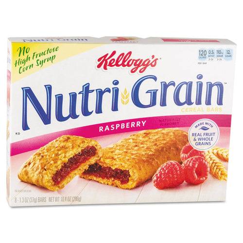 Kellogg's Nutri-Grain Cereal Bars Raspberry 16ct