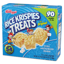 Kellogg's Original Marshmallow Rice Krispies Treats 54ct