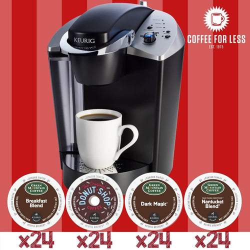 Keurig K145 Best Seller Bundle with 4 Boxes of K-Cup Pods
