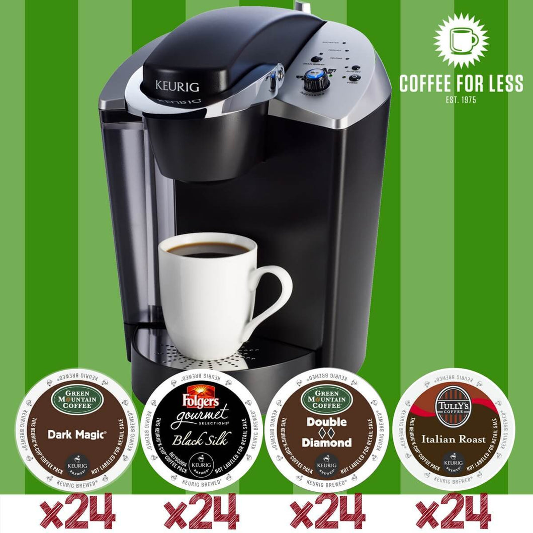 Keurig K145 Dark Roast Lovers with 96 K-Cup Pods