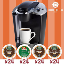 Keurig K145 Decaf Bundle with 96 K-Cup Pods