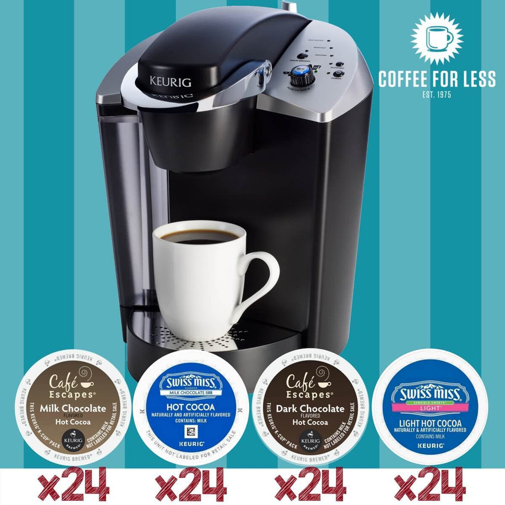 Keurig K145 Hot Cocoa Bundle Value Pack With 96 K Cup Pods
