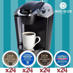 Keurig K145 Hot Cocoa Bundle with 96 K-Cup Pods