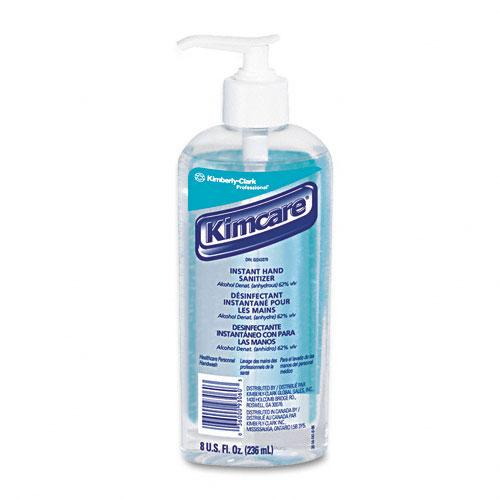 KimCare Citrus Fragrance Liquid Instant Hand Sanitizer 8oz Pump Bottle