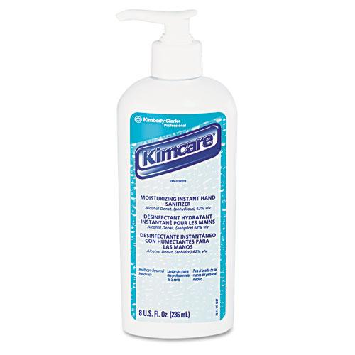 KimCare Moisturizing Antiseptic Hand Lotion 8oz Pump Bottles 12ct Case