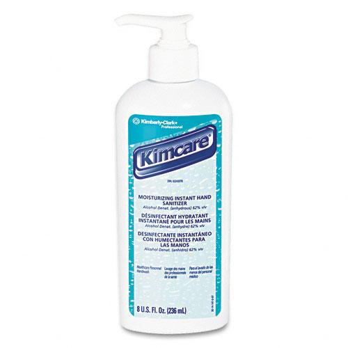 KimCare Moisturizing Instant Antiseptic Hand Lotion 8oz Pump Bottle